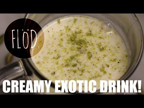"""Delicious creamy exotic drink with cardamom """" sahlab, salep, saloop !"""""""