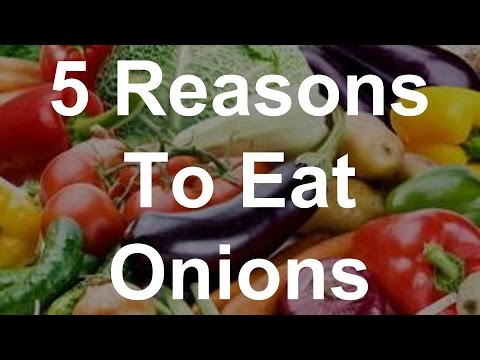 5 Reasons To Eat Onions