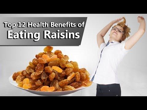 Top 12 Health Benefits of Eating Raisins (kishmish)