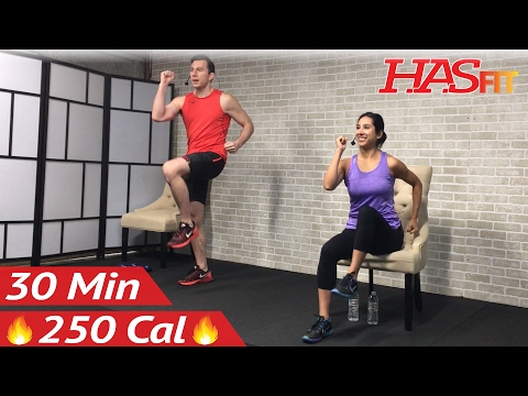 30 Min Senior Workout Routines - Standing & Seated Chair Exercise for Seniors, Elderly, Older People