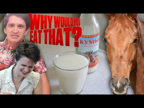 Fermented Mare Milk aka Kumis - Why Would You Eat That