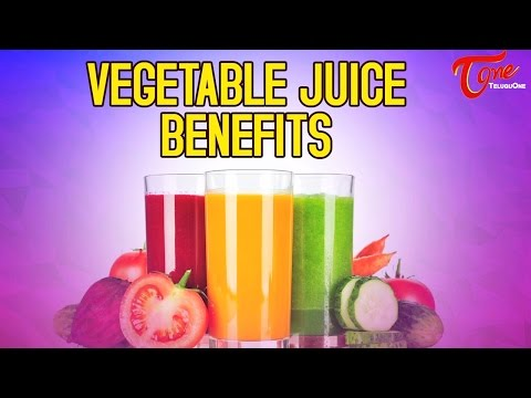 Health Benefits of Vegetable Juices | Right Diet | by Dr. P. Janaki Srinath