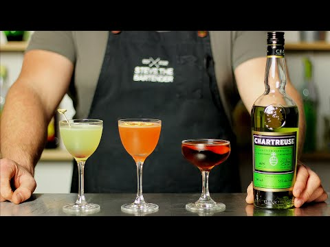 3 x GREEN CHARTREUSE Cocktails You Need to Try!