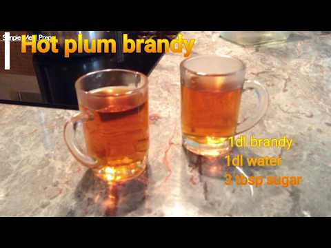Hot Plum Brandy - Slivovitz