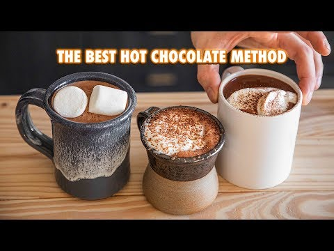How to Make The Best Hot Chocolate Of All Time (4 ways)