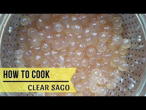 How to Cook Sago (Tapioca Pearl) - walang naiiwang puti sa gitna